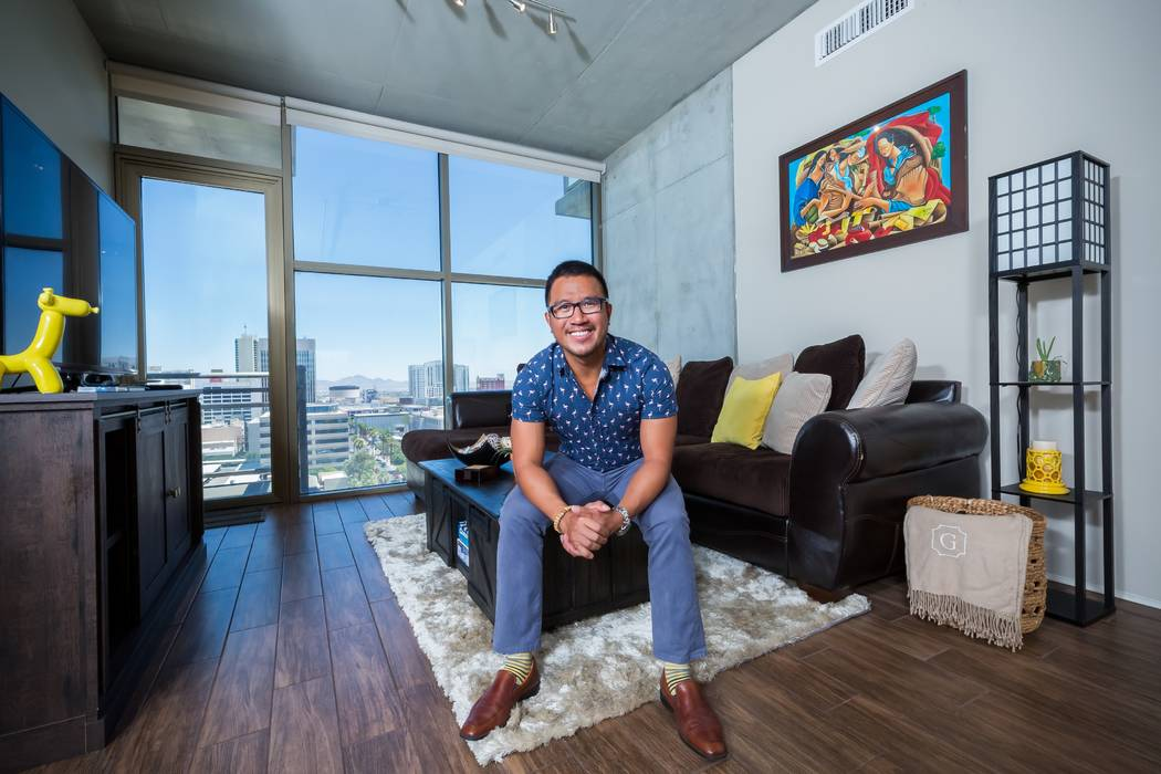 Earlier this year, Dr. Glen de Guzman purchased a two-bedroom, two-bath residence at Juhl, a lo ...