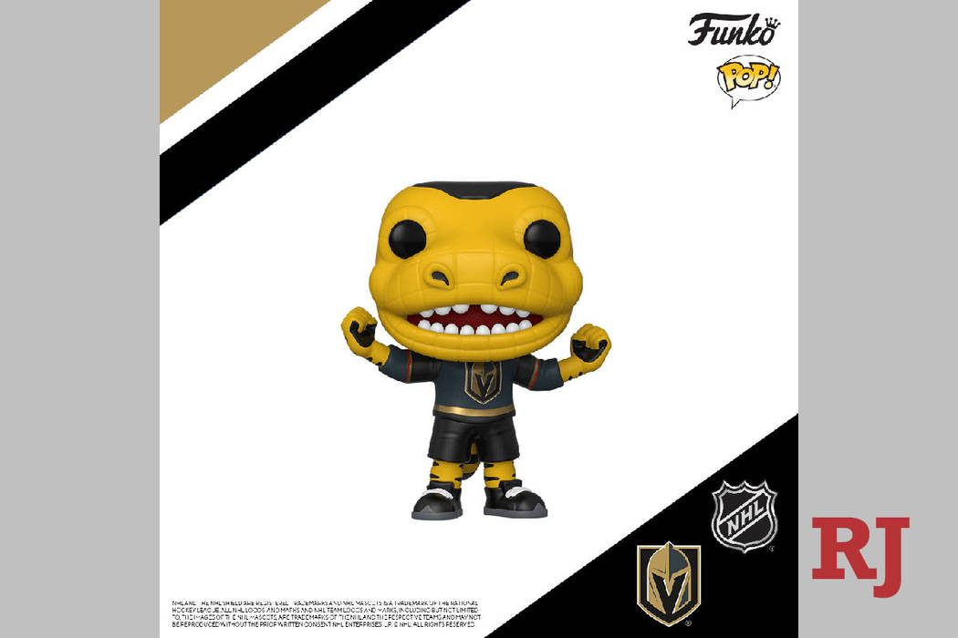 new product 16369 0bc59 Golden Knights' Chance to be made into Funko Pop! figure ...