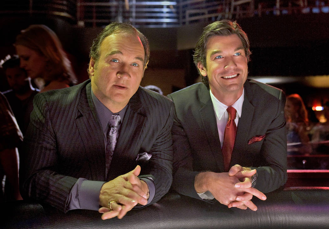 "Jim Belushi stars as Nick Morelli and Jerry O'Connell stars as Pete Kaczmarek in ""The Defenders ..."