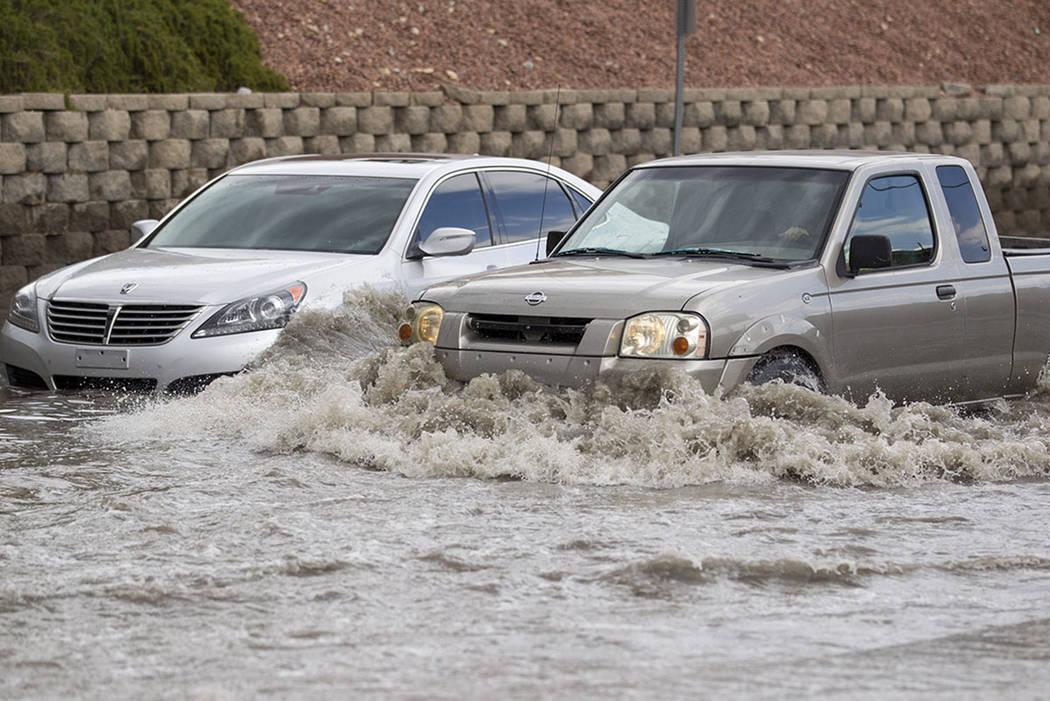 Las Vegas Motorists Urged To Prepare For Flash Floods Las Vegas