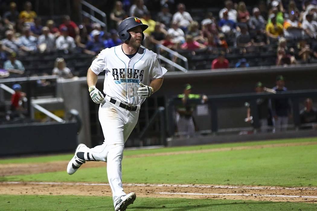 Las Vegas Aviators third baseman Sheldon Neuse (Chase Stevens/Las Vegas Review-Journal file ph ...