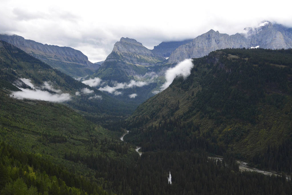 The view from Going-to-the-Sun Road in Glacier National Park, Mont., in 2016. (Lewis Kendall/Bo ...