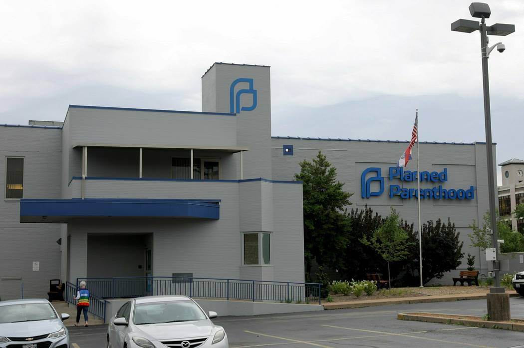 This Friday, June 21, 2019 photo, shows the exterior of the Planned Parenthood of the St. Louis ...