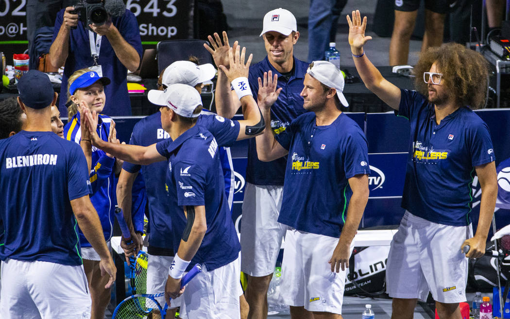 The Vegas Rollers team comes together as Bob and Mike Bryan had success during their men's doub ...