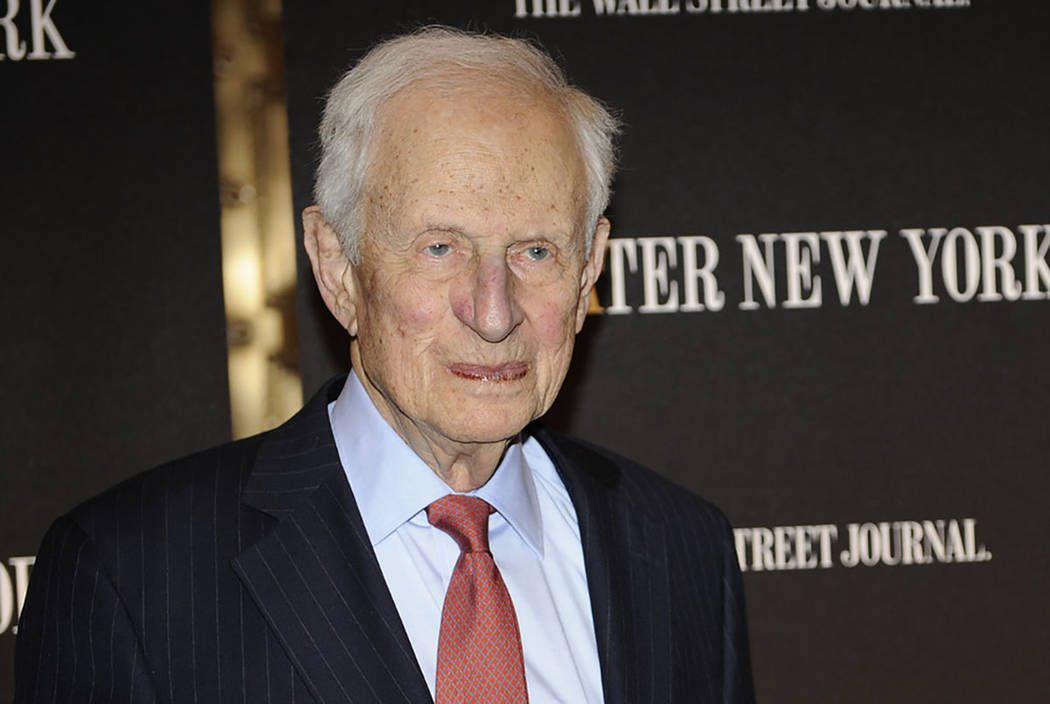Former New York City District Attorney Robert Morgenthau attends a gala launch party in New Yor ...