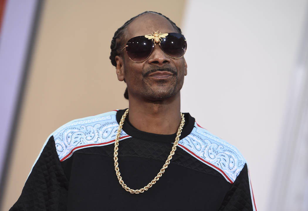 """Snoop Dogg arrives at the Los Angeles premiere of """"Once Upon a Time in Hollywood"""" at ..."""