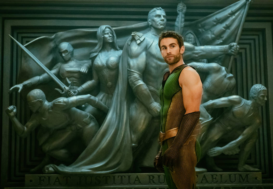 """Chace Crawford stars as The Deep in Amazon Prime's """"The Boys."""""""