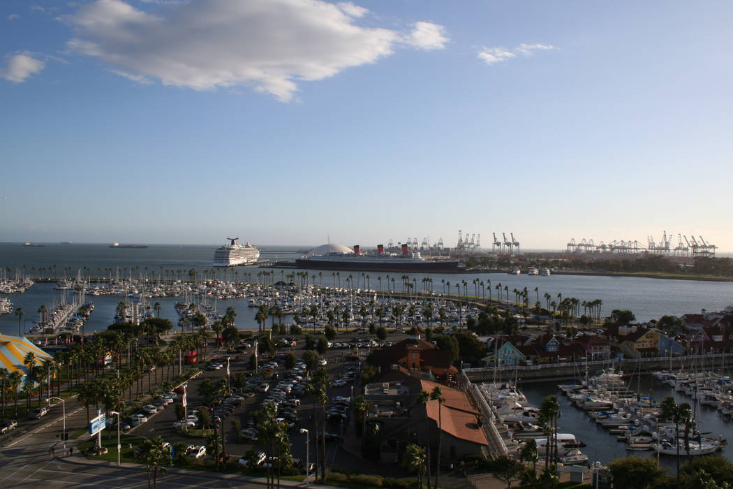 Long Beach is home to many top tourist attractions but also boasts a port for Carnival Cruises ...