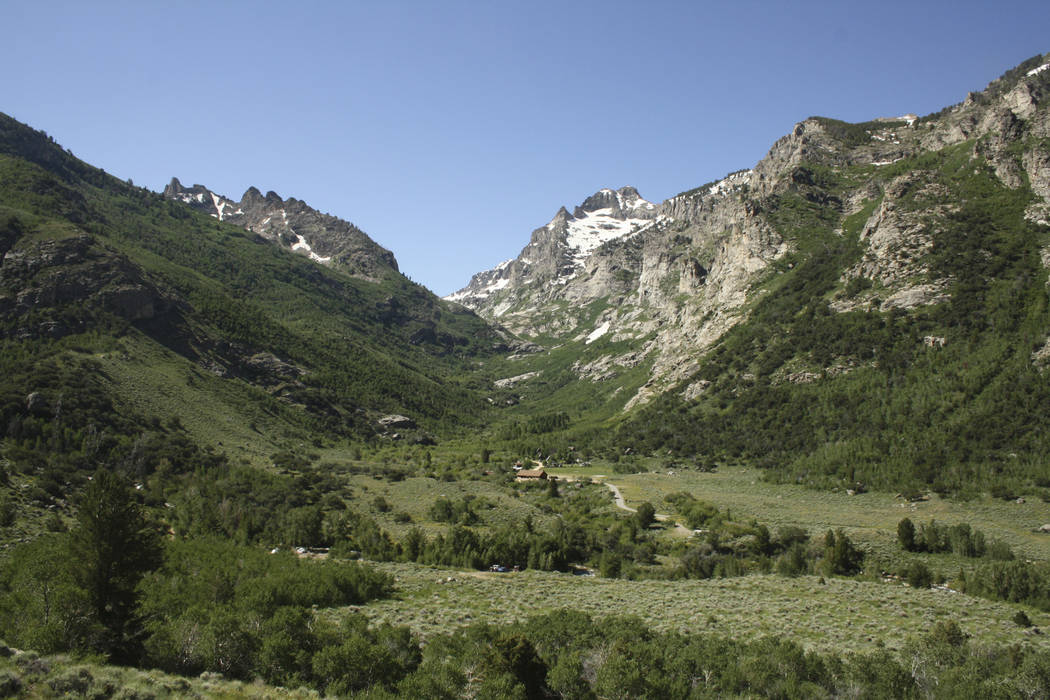 In this 2012 file photo, stunning views can be seen from the Lamoille Canyon Scenic Byway in th ...