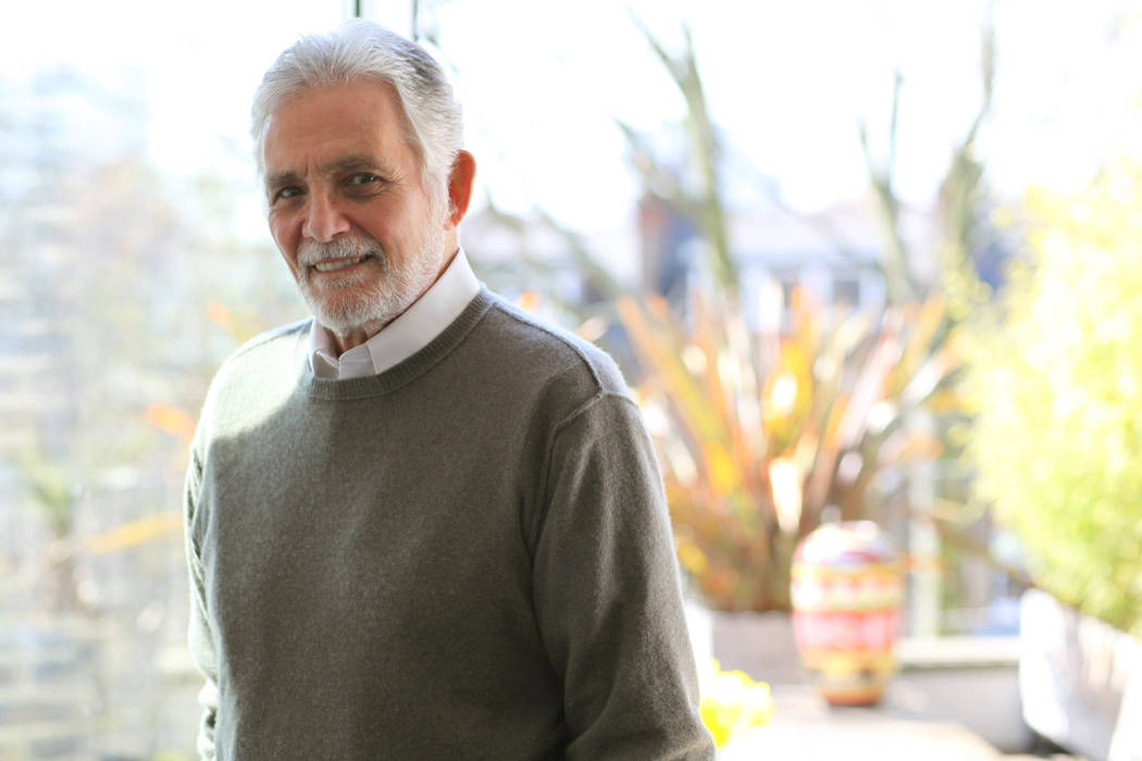 This undated image released by Alexandra Hedison shows actor David Hedison, who starred in the ...