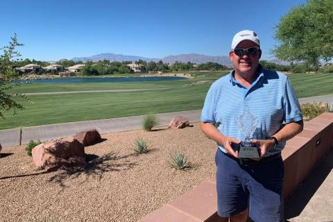 Wes Weston, a longtime Southern Nevada PGA of America professional, won the Chapter Championshi ...