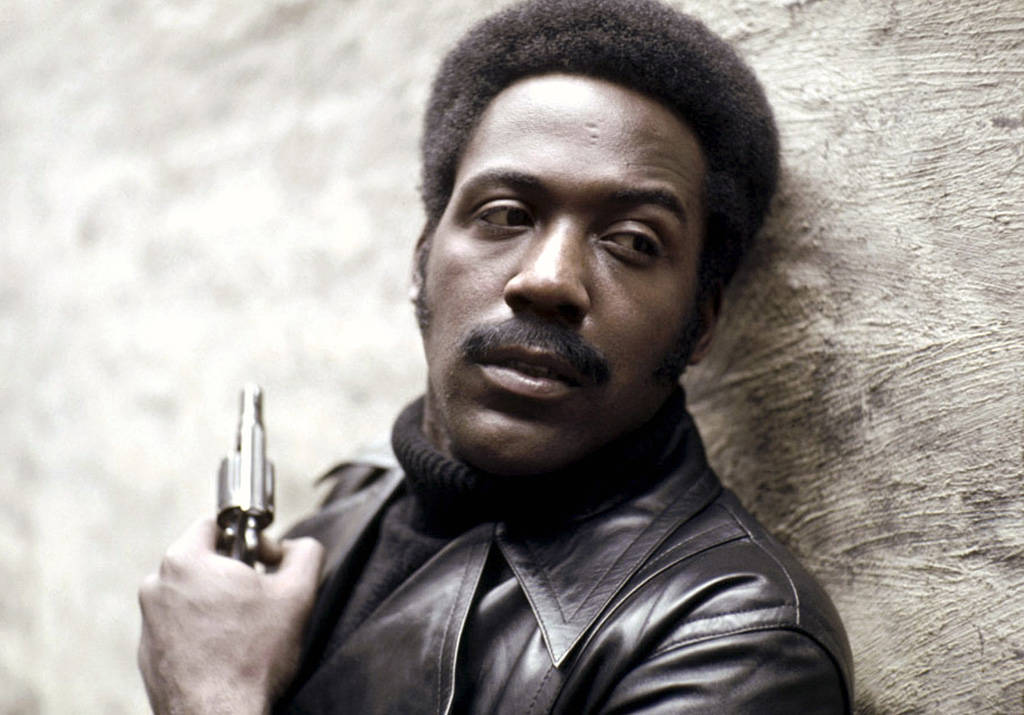 """Richard Roundtree in 1971 in """"Shaft."""""""