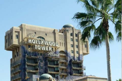 "The ""Twilight Zone Tower of Terror"" ride. (AP Photo/Nick Ut)"