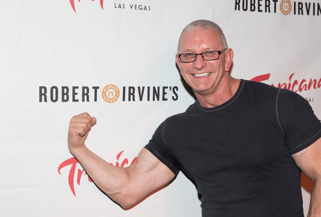 "Robert Irvine presents ""Robert Irvine Live"" at Tropicana on Thursday, April 6, 2017, in Las Veg ..."