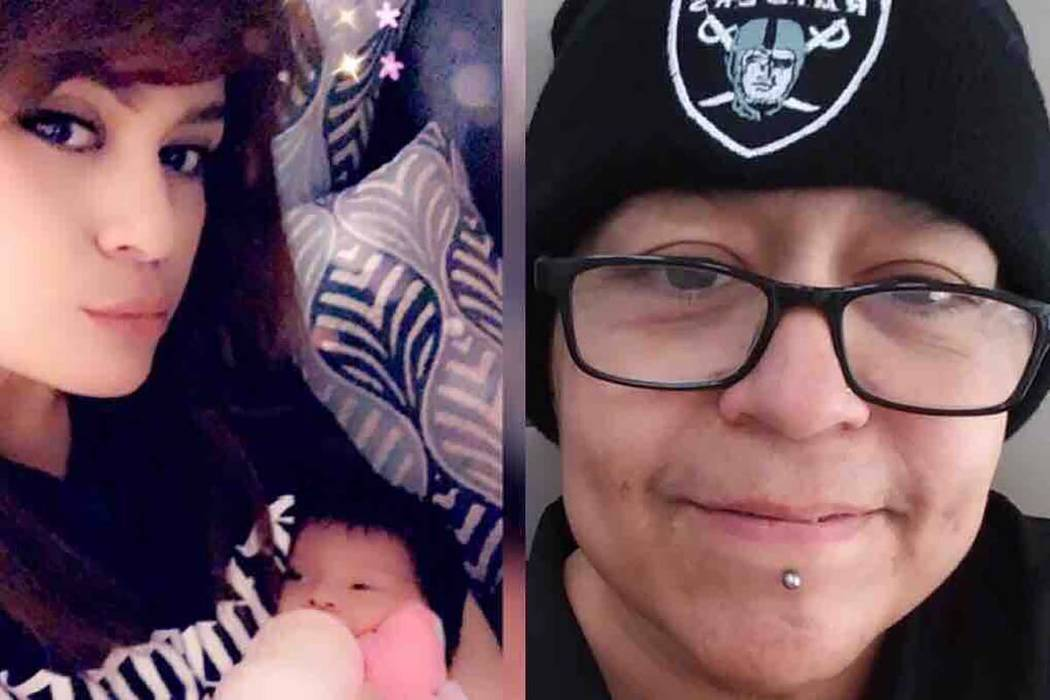 "Natalie Carbajal, left, and Alicia ""Curly"" Carbajal (GoFundMe)"