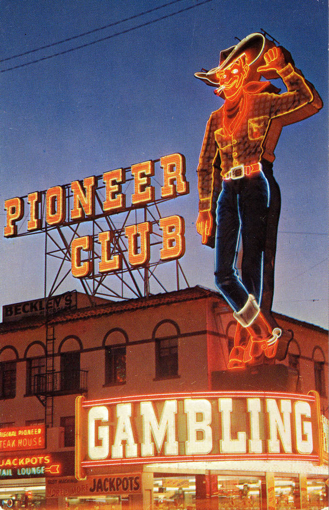 Vegas Vic became a full-length cowboy in 1951, attached to the now-shuttered Pioneer Club downt ...