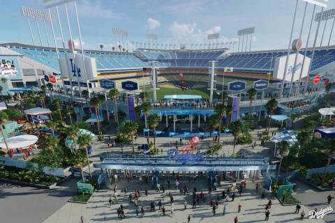Rendering of the renovations to come at Dodgers Stadium by 2020. (@Dodgers/Twitter)