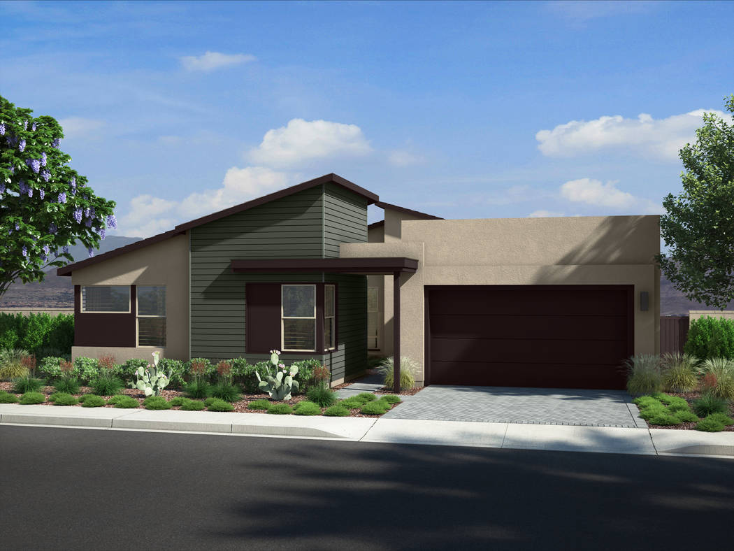Pardee Homes' Midnight Ridge is a collection of one- and two-story homes in a gated neighborh ...