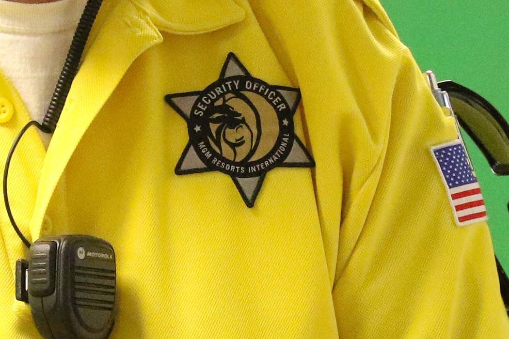 MGM changing security uniforms after Holocaust imagery