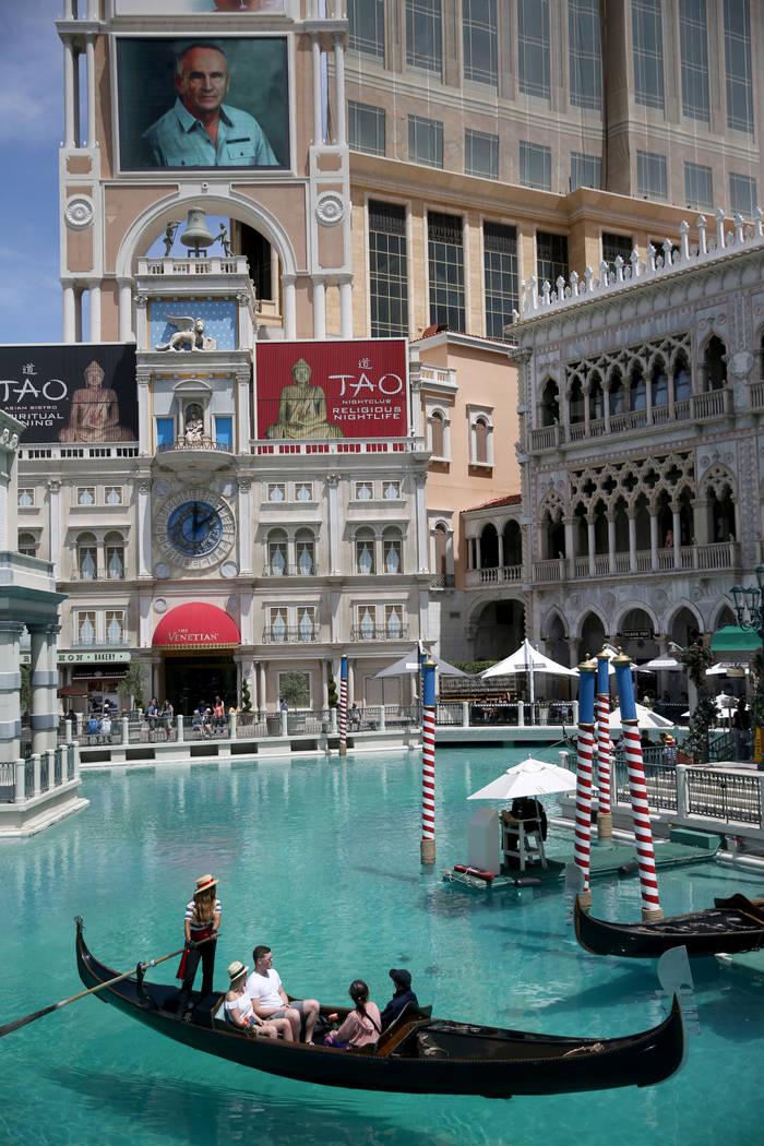 The Venetian in Las Vegas, Friday, May 3, 2019. (K.M. Cannon/Las Vegas Review-Journal) @KMCanno ...