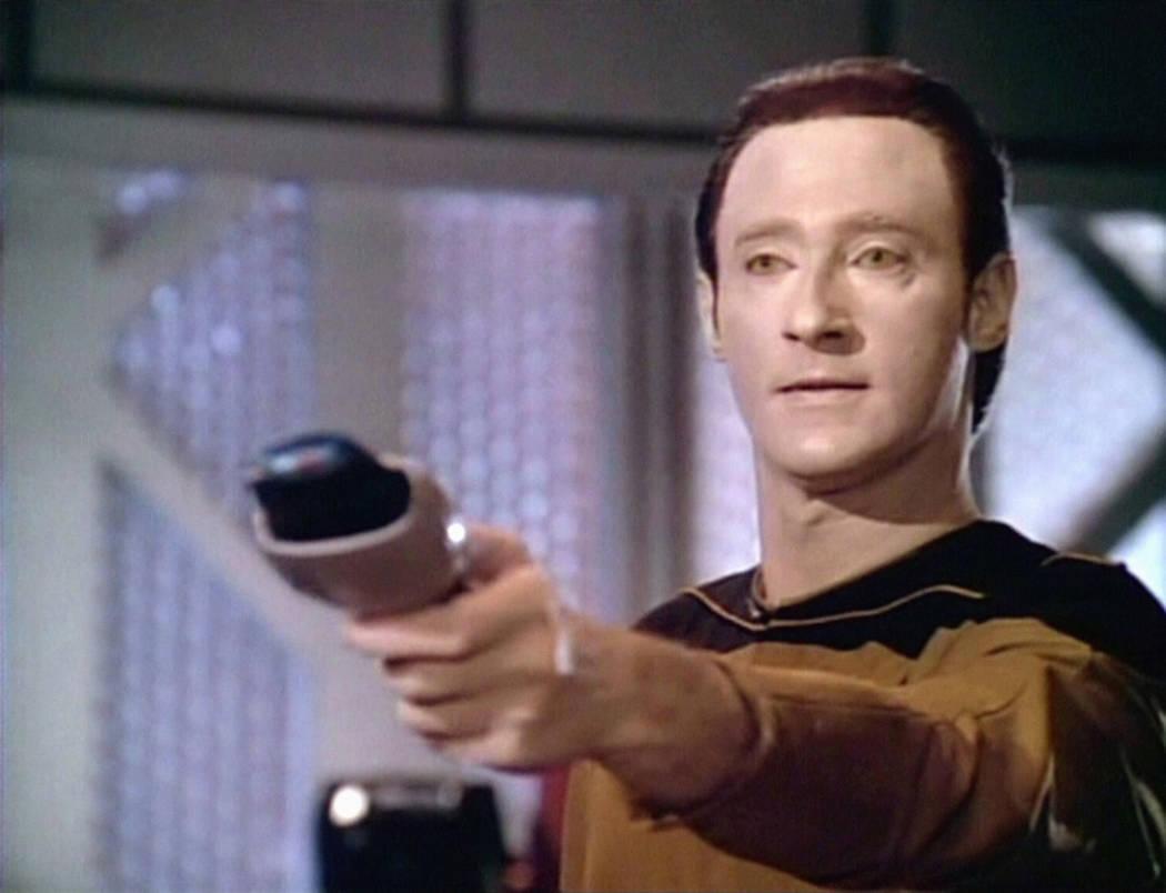 Pictured: Brent Spiner as Lt. Commander Data in STAR TREK: THE NEXT GENERATION. Screen grab: © ...