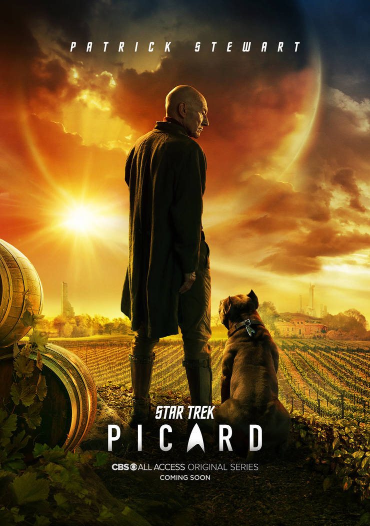 STAR TREK: PICARD -- Key Art Photo Cr: James Dimmock/CBS ©2019 CBS Interactive, Inc. All Right ...