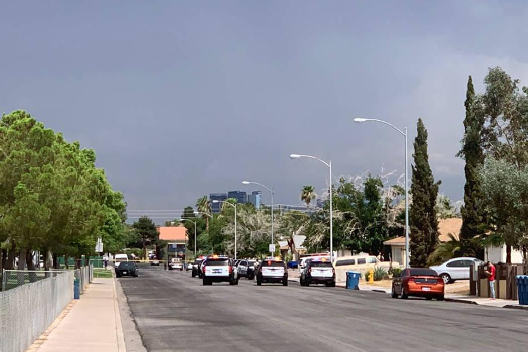 Woman dead in stabbing at central Las Vegas park   Las Vegas