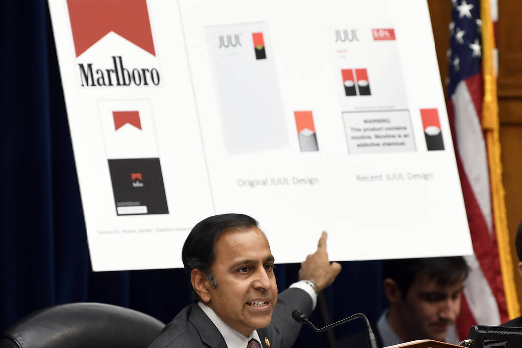 House Oversight and Government Reform subcommittee chair Rep. Raja Krishnamoorthi, D-Ill., spea ...