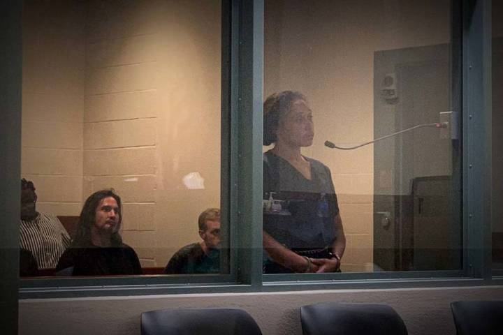 Liliani Pinto wasorderedheldwithoutbail during a court appearance on Fr ...