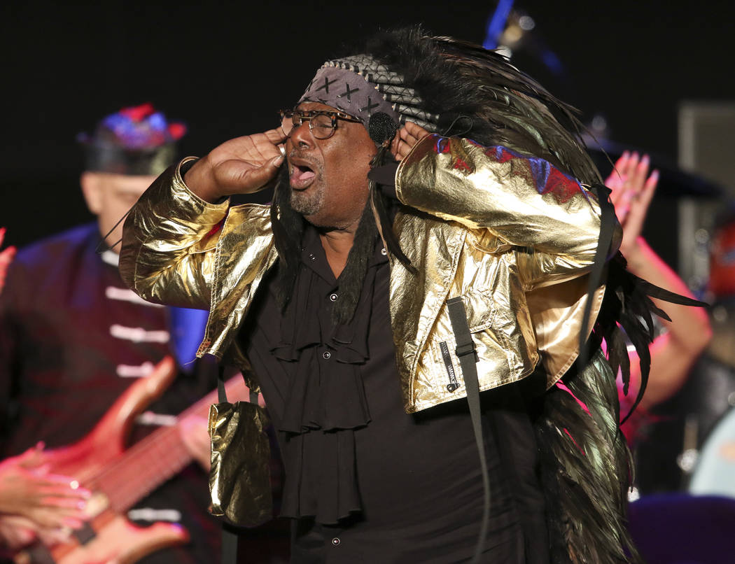 George Clinton & Parliament-Funkadelic performs at the Fox Theatre on Thursday, July 25, 20 ...