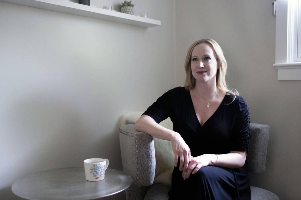 Author Jeanette Schneider in her office at Bloom Vegas in Las Vegas, Thursday, July 24, 2019. ( ...