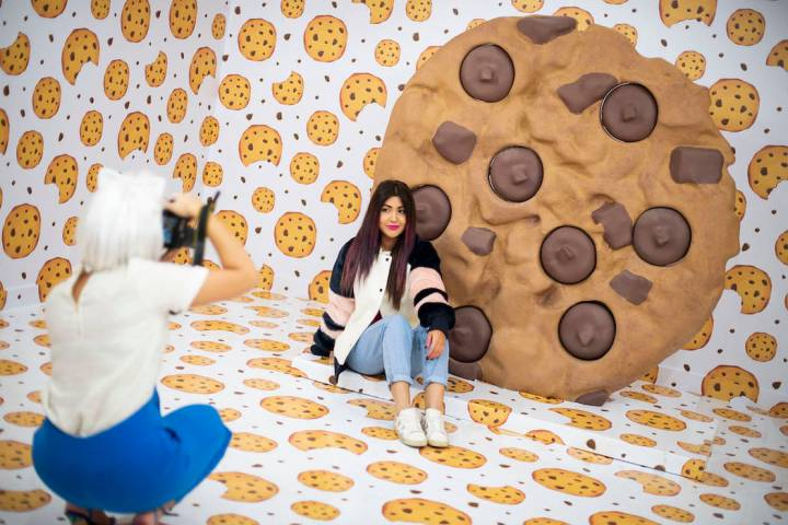 """The """"cookie room"""" is part of the interactive, immersive pop-up exhibit Happy Place coming to Ma ..."""