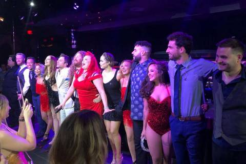 "The cast takes a final bow at ""Scott Bradlee's Postmodern Jukebox Hideaway"" on Saturday, July 2 ..."