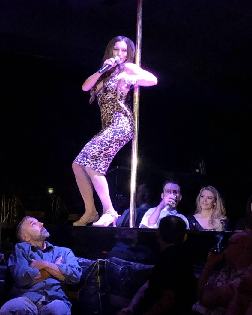 """Ariana Savalas performs during the finale of """"Scott Bradlee's Postmodern Jukebox Hideaway"""" on S ..."""