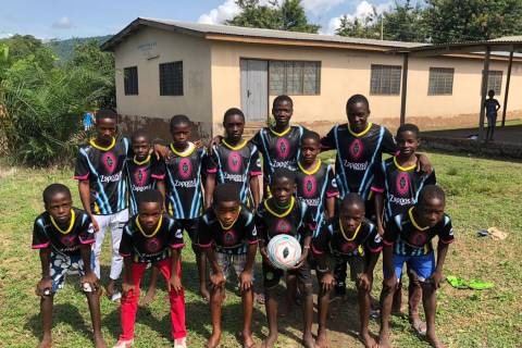 Children of the Vima Orphanage in Tsibu-Bethel, Volta Region, Ghana become the newest Lights fa ...