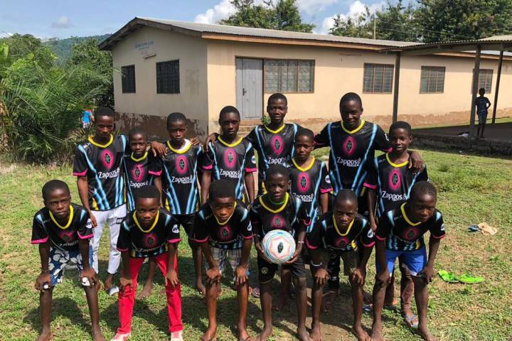 Children of the Vima Orphanage in Tsibu-Bethel, Volta Region, Ghana become the newest Lights fa ...