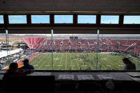 Chase Stevens/Las Vegas Review-Journal The UNLV football team will open what is scheduled to be ...