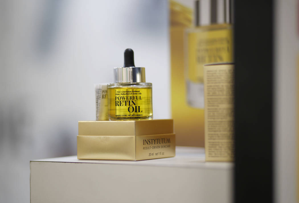 Instytutum's Powerful Retinol, an anti-aging oil containing algae extract and raspberry stem ce ...