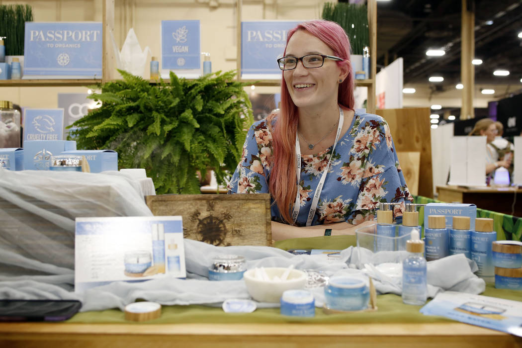Social Media Manager of Passport to Organics Mary Doerries discusses their unique blue algae co ...
