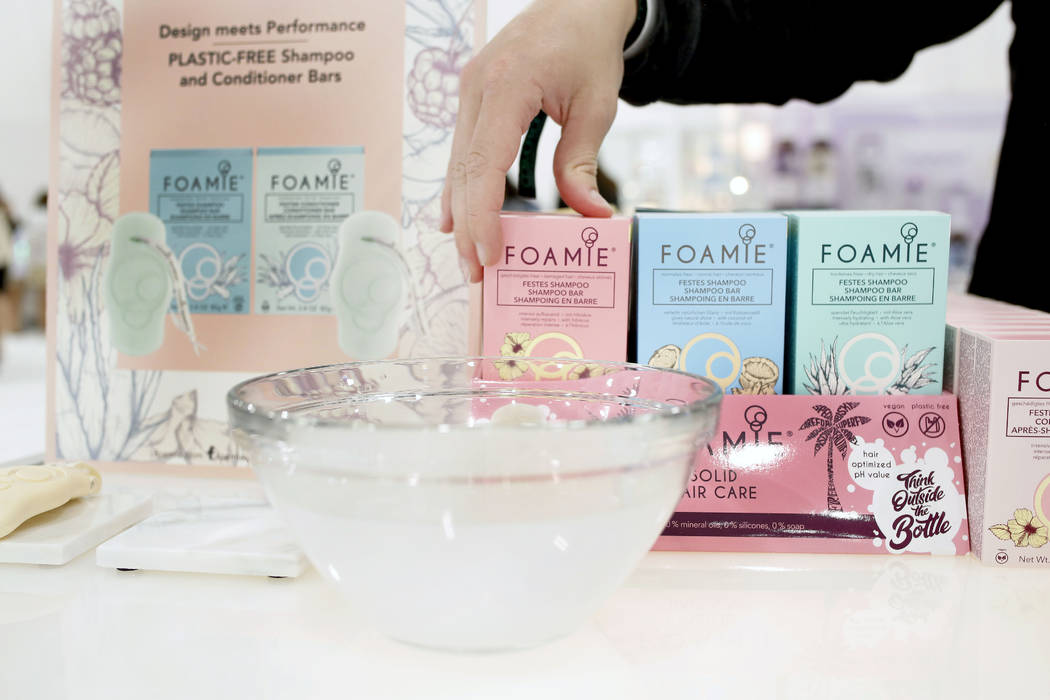Foamie account manager Michael Crosby discusses their unique biodegradable, all natural hair an ...