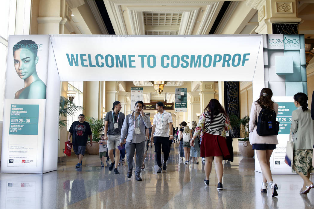 Beauty trends emerge in Las Vegas at annual Cosmoprof