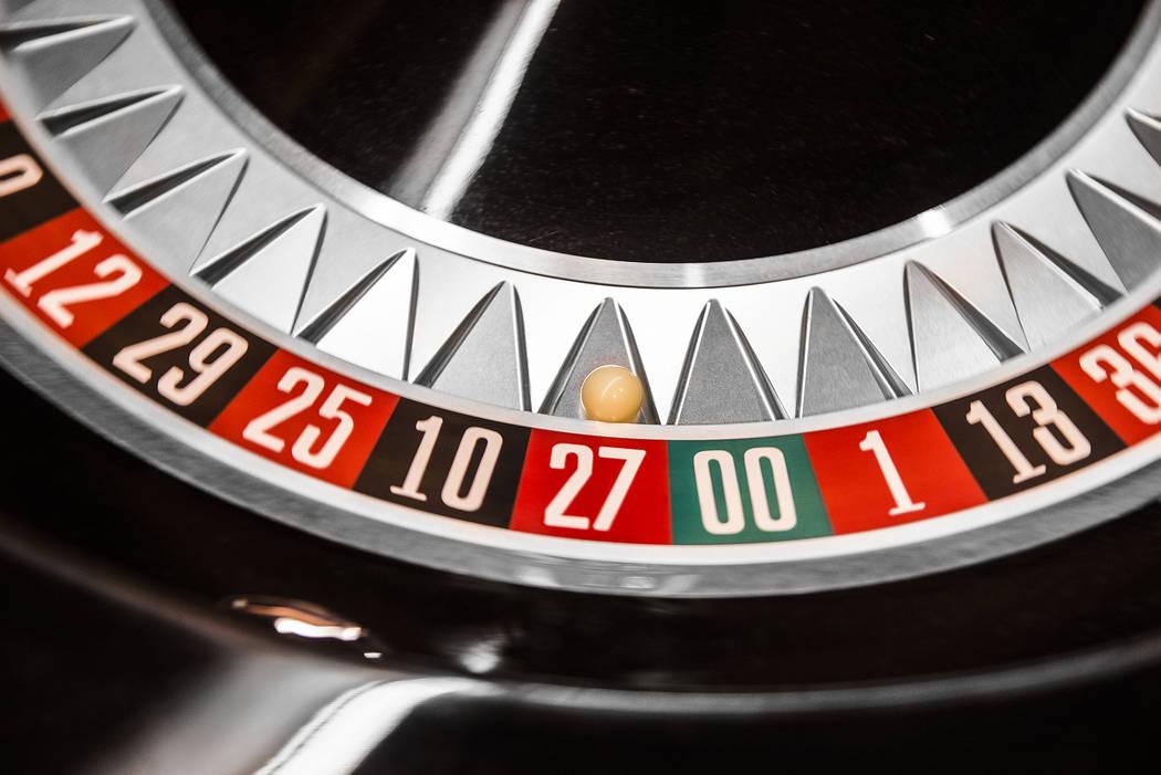 Twenty seven wins at the roulette table at SLS Las Vegas on Thursday, May, 30, 2019, in Las Veg ...