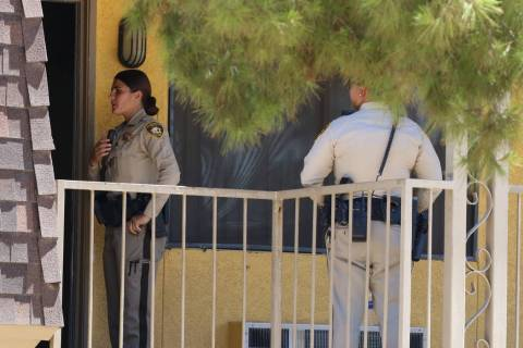 Las Vegas police are investigating a womanÕs death following a domestic disturbance at Sie ...