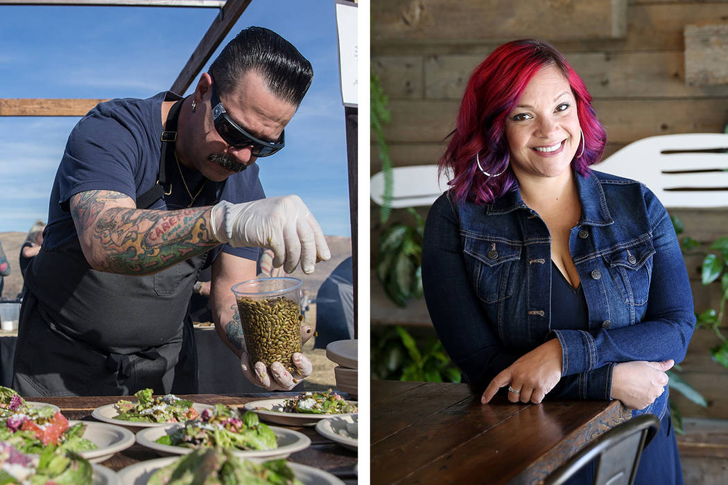 Border Grill's Mike Minor, left, is preparing to launch an up-close-and-personal version of t ...