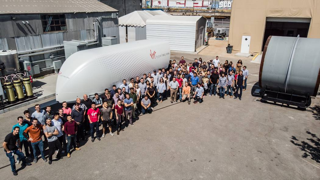 The Virgin Hyperloop One XP-1 test pod will make a three-city U.S. tour showing off the new for ...