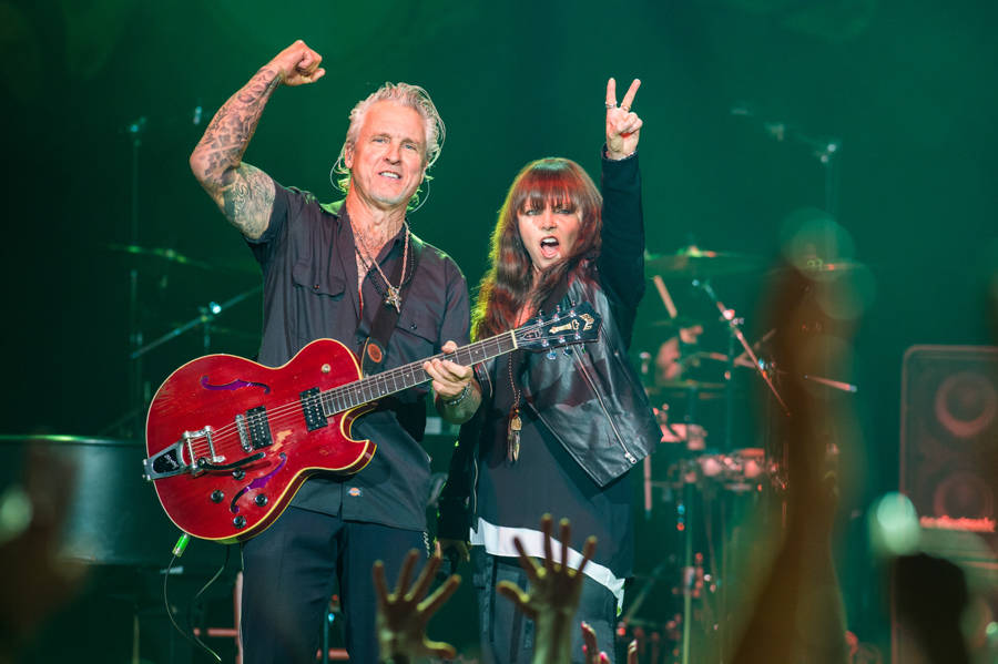 Pat Benatar and Neil Giraldo will perform at Encore Theater Friday and Saturday.