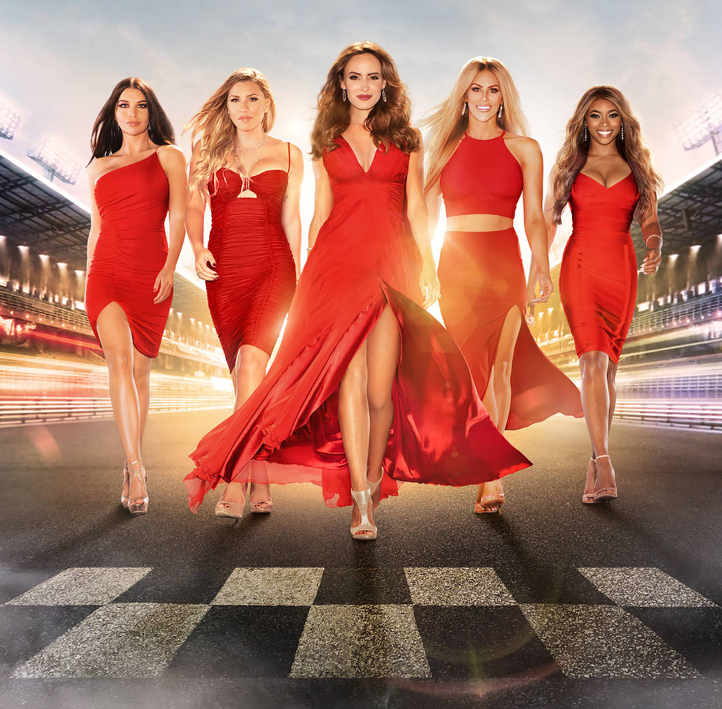 """The cast of CMT's """"Racing Wives"""" (CMT)"""