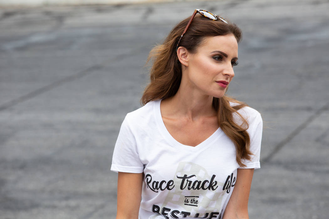 """Samantha Busch from """"Racing Wives."""" (CMT)"""