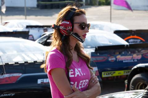 "Samantha Busch from ""Racing Wives."" (CMT)"