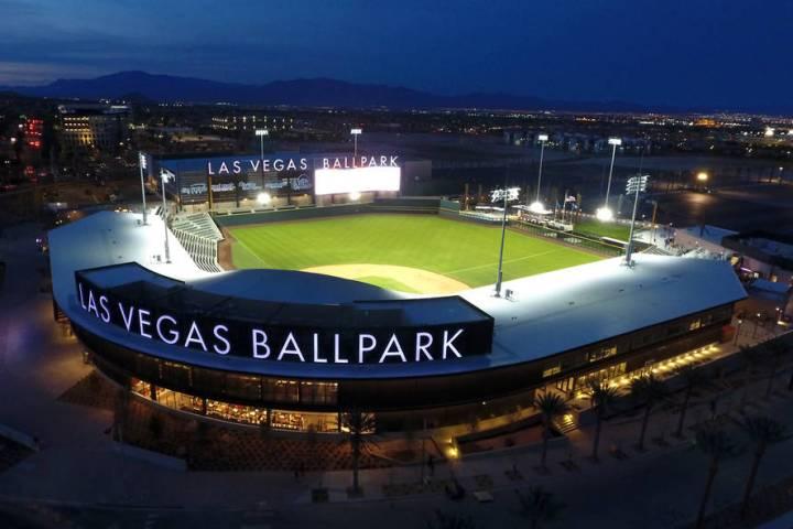 The Las Vegas Ballpark® in Downtown Summerlin, home of the Las Vegas Aviators® Triple ...